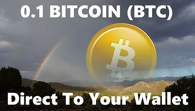 0.1 Bitcoin (BTC) - Mined Bitcoin Direct To Your Wallet - By CryptoCoinShop