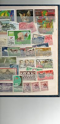 SOUTH AFRICA stamps page (3)- see scan