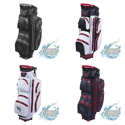 BagBoy TechNO Fully Waterproof 14 Way Divider Golf Cart Bag