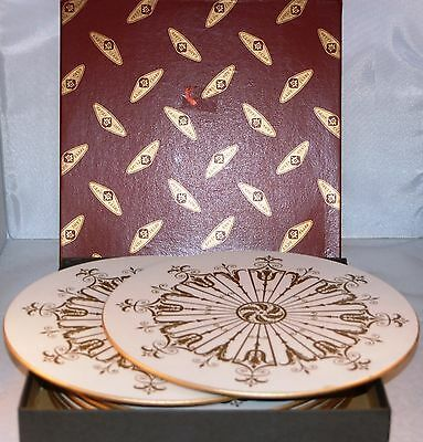 Set of 8 Vintage Lady Clare Circular Place Mats