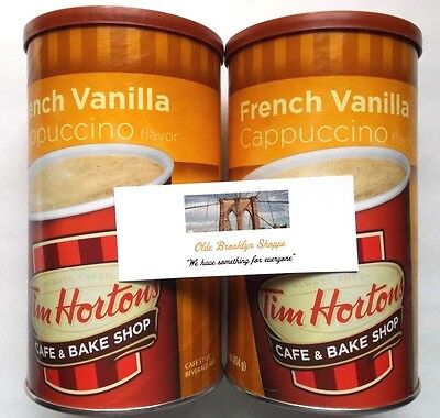 Tim Hortons French Vanilla Instant Cappuccino (2-Pack) 16 oz