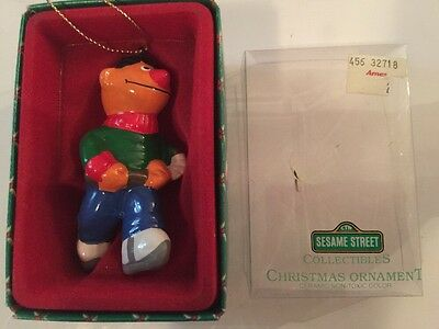 Sesame Street Collectibles Christmas Ornament, NEW