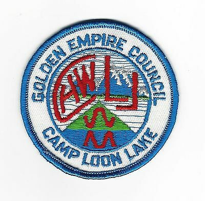 Boy Scout   Camp Loon Lake  Pp     Golden Empire Cncl   Cal