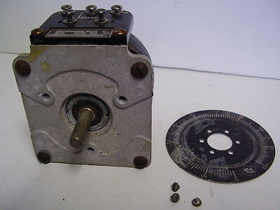 Powerstat Variac Superior Electric Co. Type 21 with front plate