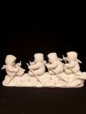 """snowbabies department 56. """"Pull together""""."""