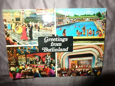 greetings from butlinland  Butlins Clacton on sea pmk 1977 john hinde R/L