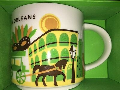 Starbucks City Mug, NEW ORLEANS, «You Are Here» Collection, SKU Code,14oz.