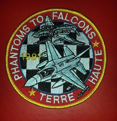 USAF 181st Tactical Fighter Group F-4 to F-16 Conversion Patch