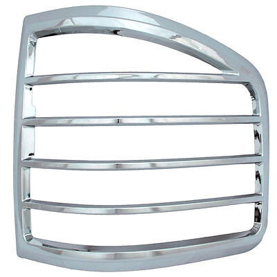 Ford F150 Tlb26824 Chrome Tail Light Bezel Cover 04-08  Flare Side