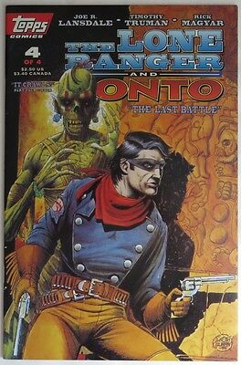 1994 The Lone Ranger And Tonto #4  -  Vf                      (Inv12014)