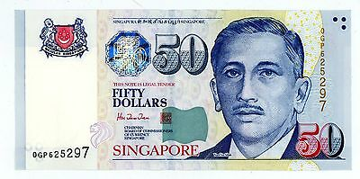 Singapore ... P-41a ... 50 Dollars ... ND(1999) ...  *UNC*(~).