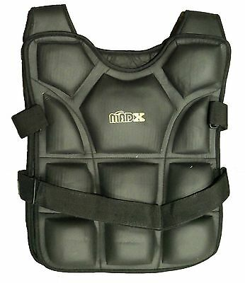 Madx Weighted Jacket Weight Vest Loss Gym Running fitness 12KG,18KG, Strength