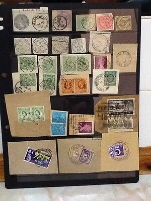 Collection of Rochdale sub post office cancellations