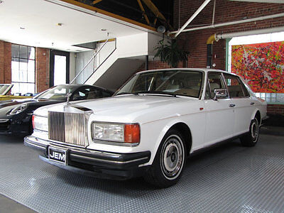 1995 Rolls-Royce Silver Spirit/Spur/Dawn  A spectacular Rust and Accident free original condition California Car.