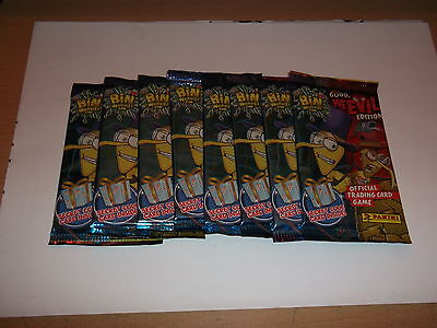 Bin Weevils Trading Cards: Good vs WeEvil x  8 UNOPENED -Packets..