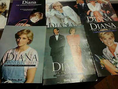 Diana Princess collection of 11 Magazine  magazines (1998)