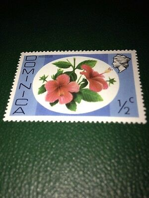 Stamp Dominica - Unfranked