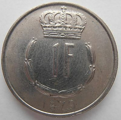 Luxembourg 1 Franc 1979