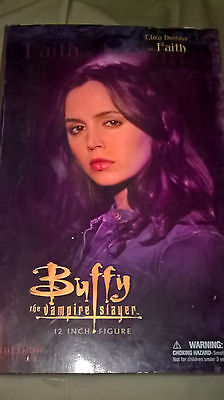"Buffy the vampire slayer 12"" Faith figure by Sideshow collectibles"