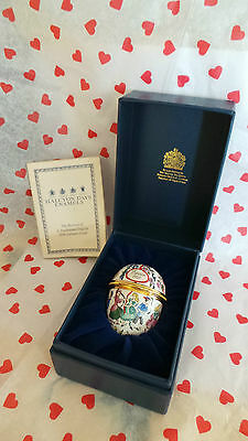 Halcyon Days Enamel Egg ~ 'Easter 1993' ~ Boxed