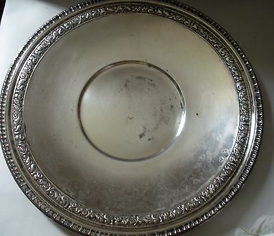 Reed And Barton Silver-plate Serving Dish Vintage