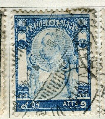 THAILAND;  1905-08 early issue fine used 9att. value