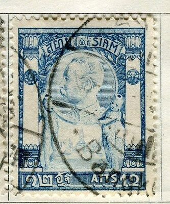 THAILAND;  1905-08 early issue fine used 12att. value