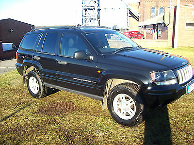 2004 Jeep Grand Cherokee Crd Sprt A Black Px Welcome