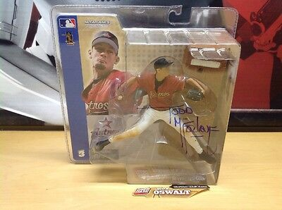 McFarlane Sportspicks Series 3 Roy Oswalt Signed Autographed By Todd McFarlane