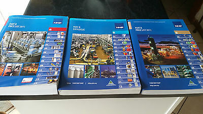 3 x nhp electrical parts catalogues