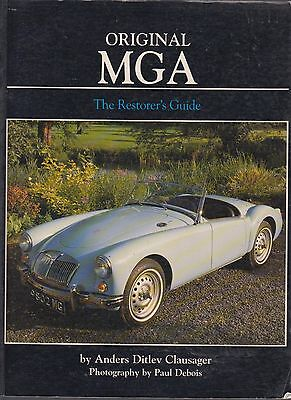 Mg Mga Coupe & Roadster 1500 1600 & Twin Cam Restorers Guide To Originality Book