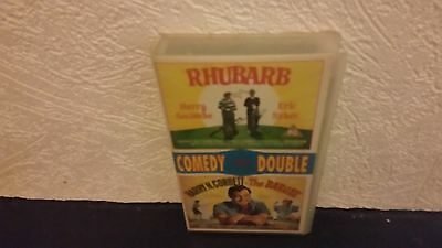 Rhubarb And The Bargee Eric Sykes Rare Uk Vhs Video