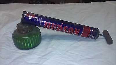 Vintage Hudson Bug Sprayer With Green Glass