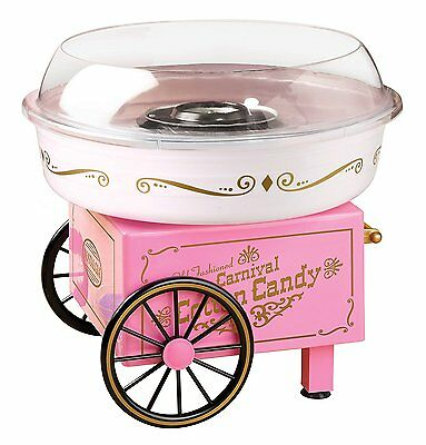 Electric Commercial Cotton Candy Maker Machine Kit Vintage Store, Party Pink New