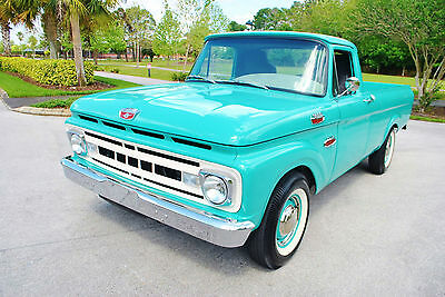 1961 Ford F-100 Nut & Bolt Frame Off Restoration Loaded! Restomod! FREE Shipping in the Continental U.S.A