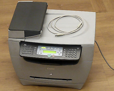 (Prl) Canon Laser All-In-One Laserbase Mf5750 Stampante Fax Scanner Copiatrice