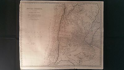1882 Old Antique Map Atlas Middle East IRAN (Persia) PAKISTAN AFGHANISTAN Print