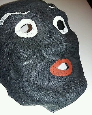 Vintage cheesecloth Halloween mask