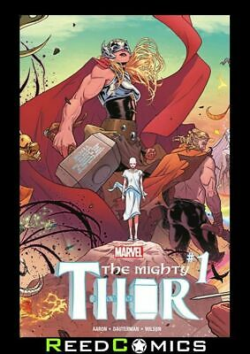 MIGHTY THOR VOLUME 1 THUNDER IN HER VEINS GRAPHIC NOVEL Collects (2015) #1-5