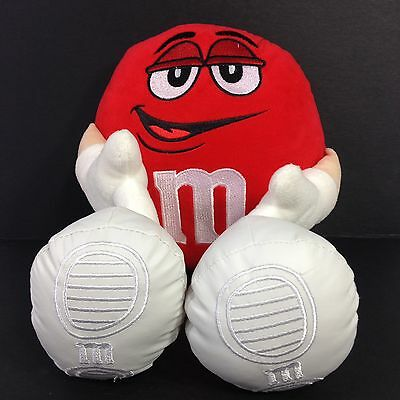 "13"" Red M&m Character Plush 2015 Toy Factory Mars Candy Plush Licensed"