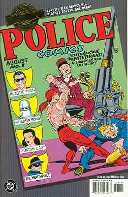 Millennium Edition Police Comics #1 in Near Mint condition. FREE bag/board