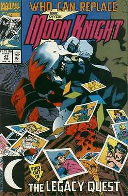 Marc Spector: Moon Knight #47 in Near Mint condition. FREE bag/board