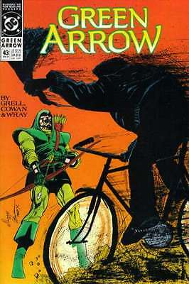 Green Arrow (1988 series) #43 in Near Mint - condition. FREE bag/board