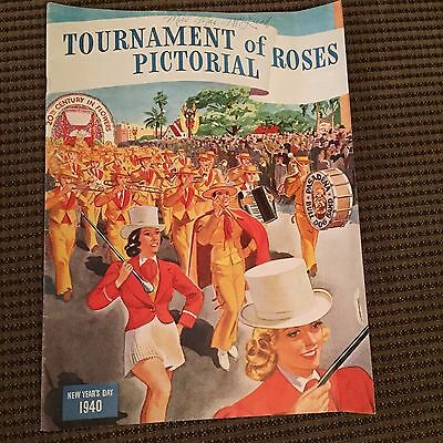 Tournament of Roses Pictorial - New Year's Day 1940 - Football Parade