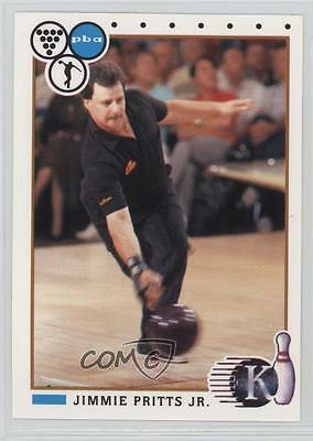 1990 Kingpins PBA #85 Jimmie Pritts Jr Jr. Bowling Card 0f6