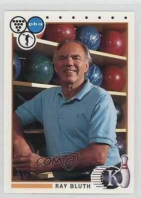1990 Kingpins PBA #12 Ray Bluth Bowling Card 0f6