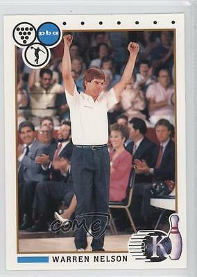 1990 Kingpins PBA #24 Warren Nelson Bowling Card 0f6