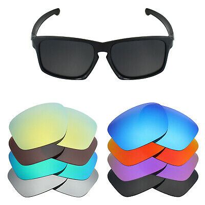 Mryok Anti-Scratch Polarized Replacement Lens for-Oakley Sliver Sunglass - Opt.