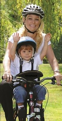EU Safety Approved Child Kids Baby Safe Bike Cycle Seat Carrier Weeride Deluxe