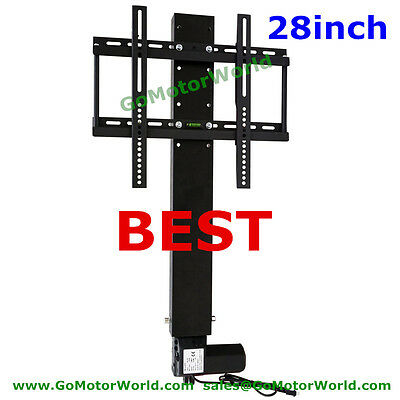 tv lift cabinet system 28inch with remote and mounting brackets DHL free ship
